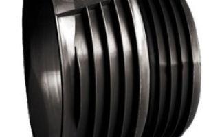 Пластиковые заглушки для труб: области применения и виды, установка и демонтаж, правила выбора