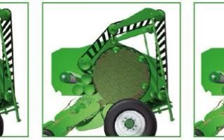 Пресс-подборщики сена: особенности, принцип работы рулонных механизмов