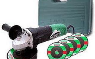 Болгарка хитачи: виды и технические характеристики, конструкция инструмента, сфера применения