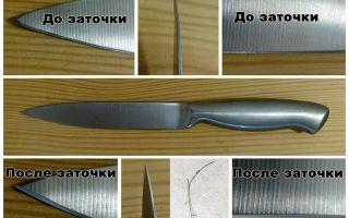 Точильный камень для ножей: виды и их характеристики, правила затачивания лезвия