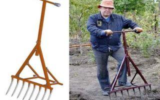 Современные инструменты для огорода: вилы-лопаты и электролопаты для копки земли