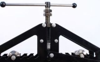 Как изготовить ручной трубогиб из тисков: принцип действия и характеристики