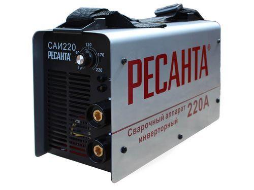 Сварочный инвертор Ресанта САИ-220: особенности, принцип работы и преимущества