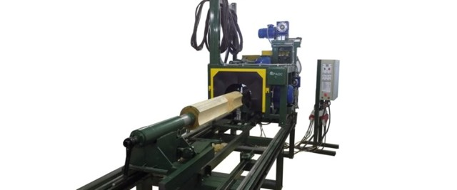 Оцилиндровочный станок для бревен: особенности, классификация и конструкция, варианты станков
