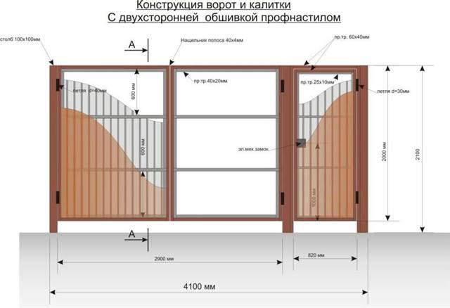 Петли для ворот: как правильно приварить навесы на круглые и квадратные столбы