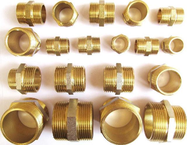 Латунные фитинги: свойства материала и область применения