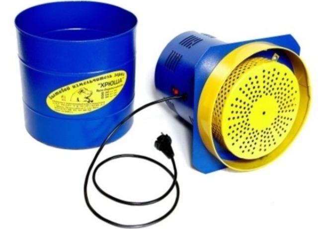 Зернодробилка: создание из подручных средств, разновидности, особенности применения в хозяйстве