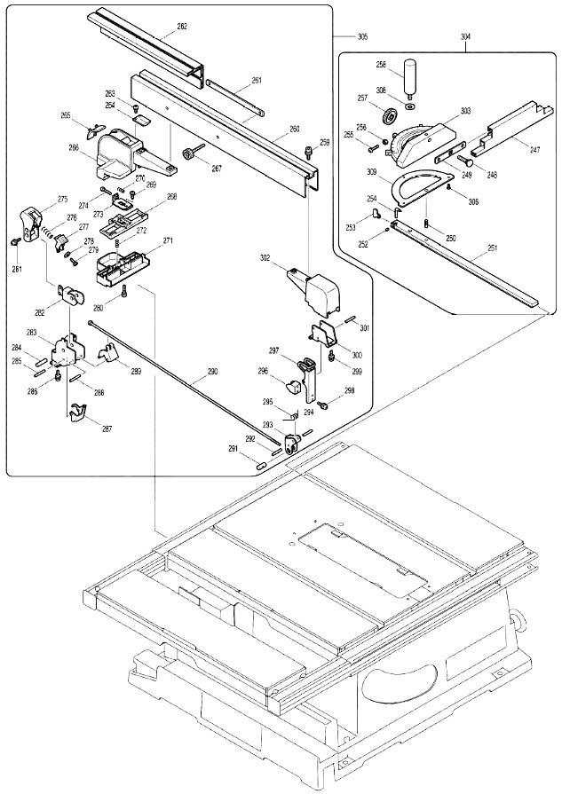 Распиловочный станок makita 2704: особенности, принцип работы