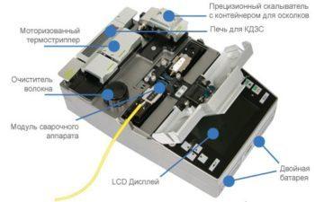 Сварка оптоволокна: применяемое оборудование, инструменты для пайки оптических кабелей
