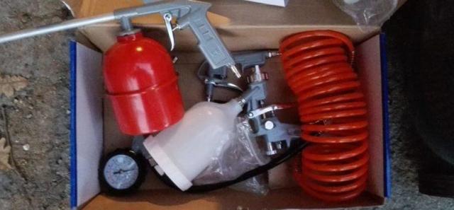 Выбор пневматического краскопульта: плюсы и минусы, как выбрать краскораспылитель с компрессором, марки