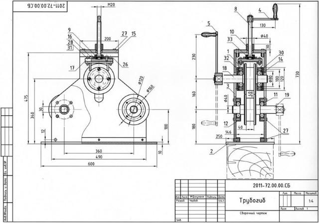 Инструкция, как сделать ручной профилегиб своими руками, как выглядит этот прибор