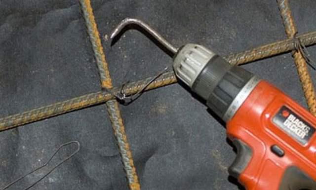 Крючок для вязки арматуры: изготовление инструмента для вязания своими руками