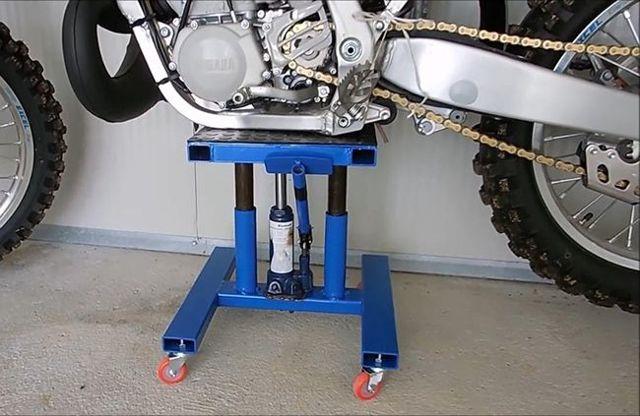 Подкат под мотоцикл своими руками: особенности, инструкция