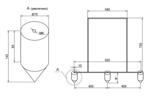 Ручная картофелесажалка: устройство, материалы и инструменты, изготовление и правила пользования