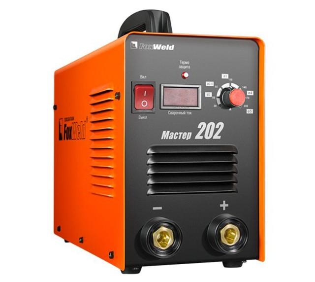 Что из себя представляет сварочный аппарат foxweld master 202: характеристики