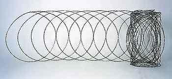 Колючая проволока Егоза: достоинства, область применения и материал изготовления