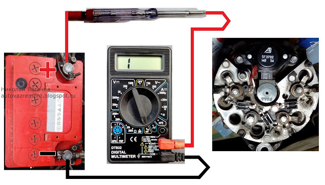 Как проверить генератор своими силами: проверка генератора не снимая с машины, реле-регулятора, диодного моста