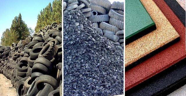 Производство резиновой плитки: оборудование, цена, способы изготовления и изъяны производства
