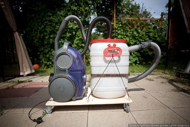 Рекомендации по самостоятельному изготовлению фильтра циклон для пылесоса