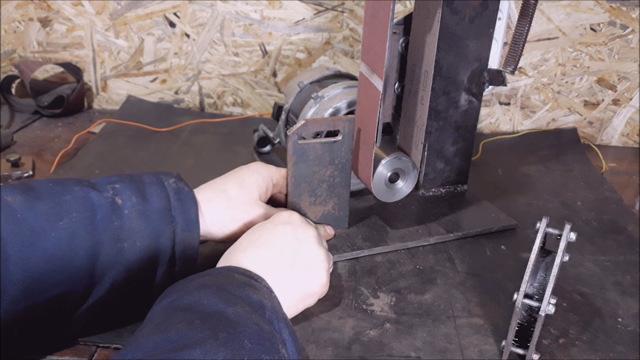 Ленточный гриндер простое устройство для шлифовки и заточки