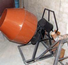 Бетономешалка своими руками: виды бетоносмесителей, тонкости сборки самодельных агрегатов
