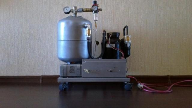 Советы по изготовлению воздушного компрессора своими руками