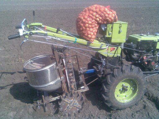 Особенности картофелесажалки: строение, виды и принцип работы, самодельное устройство для мотоблока