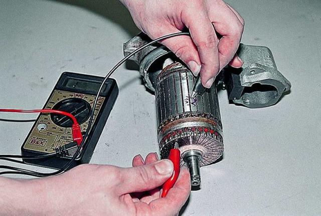Самостоятельная проверка стартера автомобиля от аккумулятора, признаки поломки и диагностика