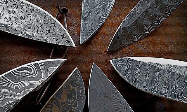 Дамасская сталь: особенности и разновидности, изготовление