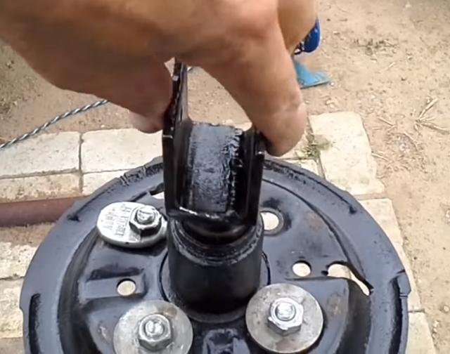 Шиномонтаж своими руками: конструкция самодельного станка, процесс сборки