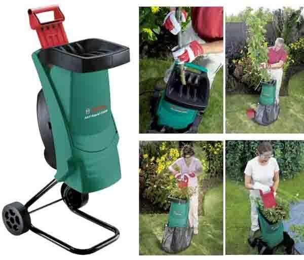 Шредер измельчитель садовый, измельчитель садовый для травы и веток, шредер садовый