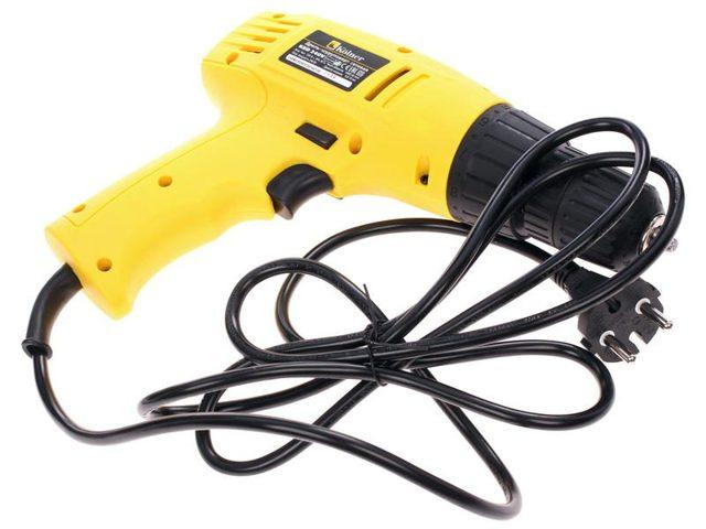 Сетевой электрошуруповерт: как выбрать шуруповёрт, виды электрических проводных инструментов