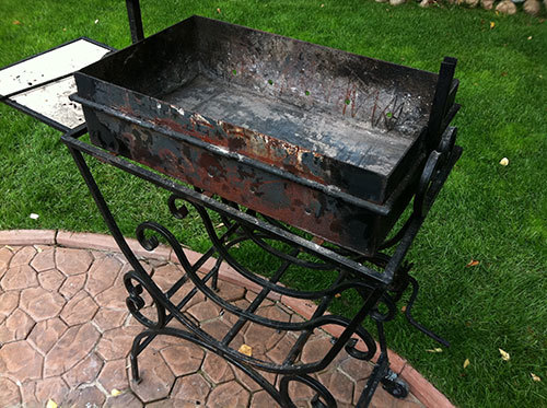 Термостойкая жаропрочная краска для мангала: выбор огнеупорной термокраски как защитного покрытия металла