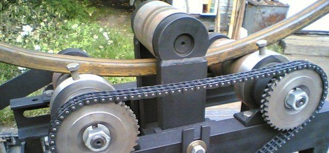 Гибка профильных труб по радиусу: назначение, методика, классификация оборудования