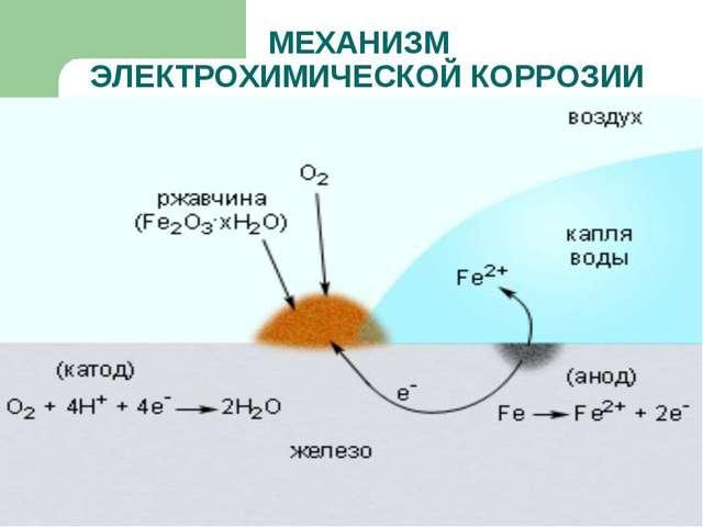 Электрохимическая коррозия: описание процесса, объекты разрушения, методы борьбы