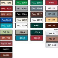 Цвета профнастила: состав и свойства материала, подбор цвета для забора и кровли, сочетаемость оттенков