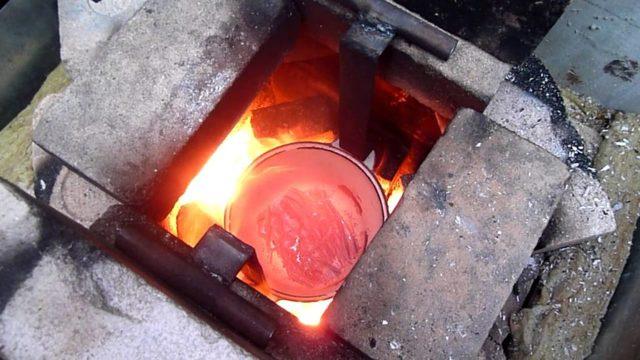 Плавка алюминия в домашних условиях: особенности процесса, при какой температуре проходит плавка
