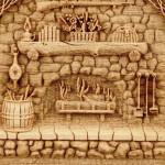 Гравировка по дереву: разновидности и их основные особенности, популярные сюжеты для работ