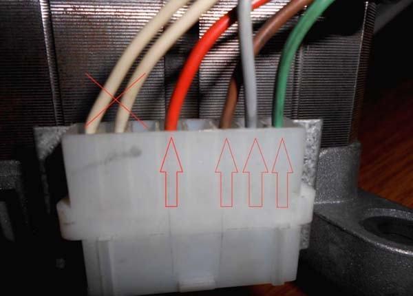 Подключение двигателя от старой стиральной машины, схема подключения к сети 220 В