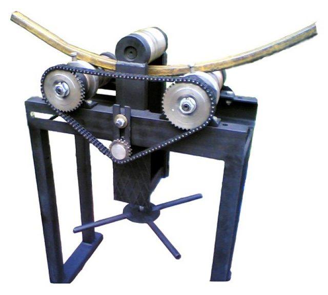 Описание трубогибочного станка и принципов его работы, сферы применения таких станков