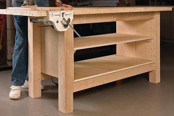 Верстак в гараж своими руками: особенности конструкции, материалы и инструменты, этапы изготовления