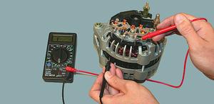Диодный мост генератора: проверка с помощью мультиметра или лампочки