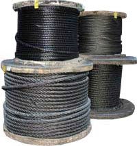 Канаты стальные ГОСТ 2688—80: конструкция, основные характеристики, маркировка и вес