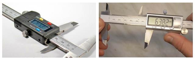 Описание и принцип работы электронного штангенциркуля, преимущества цифрового инструмента