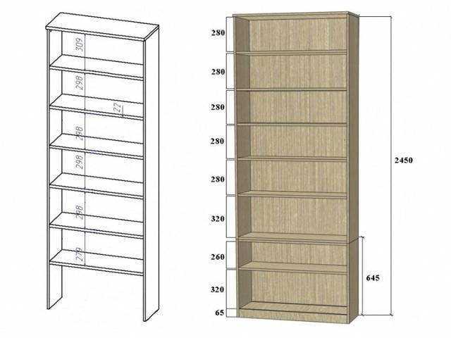 Тзготовление стеллажа своими руками: как сделать деревянную или металлическую конструкцию