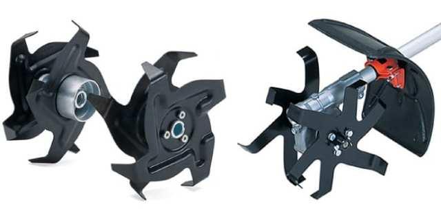Самодельный культиватор из триммера и велосипеда, ручной культиватор для обработки междурядий