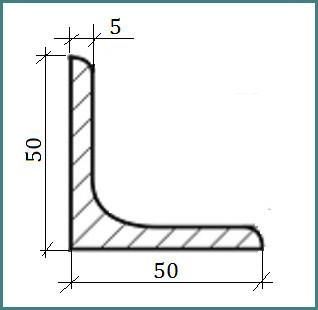 Стальной уголок 50х50х5: точный вес 1 метра, информационная таблица для специалистов, краткая характеристика