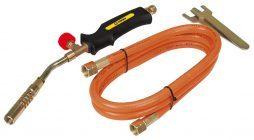 Газовые горелки для пайки с одноразовым баллоном: виды, характеристики и технические особенности