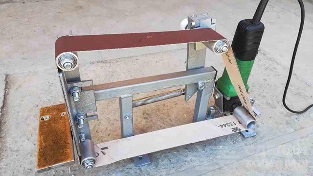 Гриндер своими руками: составление чертежей с размерами, изготовление самодельного прибора