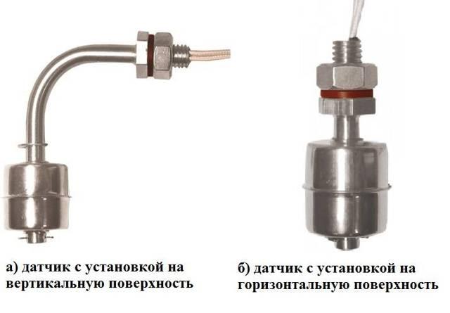 Описание принципа работы поплавкового выключателя уровня воды для насоса